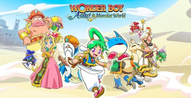 Wonder Boy Asha in Monster World.01_080421